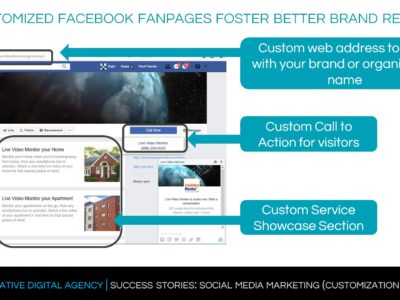 facebook fanpage design, facebook apps